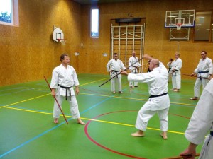Karate marathon 2014-jo-training-10