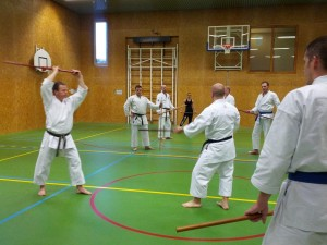 Karate marathon 2014-jo-training-12