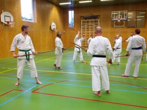 Karate marathon 2014-jo-training-14