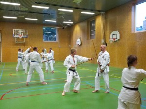 Karate marathon 2014-jo-training-5