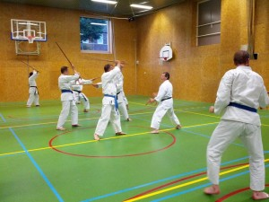 Karate marathon 2014-jo-training-6